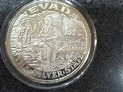 The Silver State 2oz .999 Silver Coin with Gold Nugget